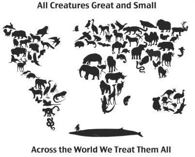 Dokter hewan bertanggung jawab terhadap banyak spesies di muka bumi!