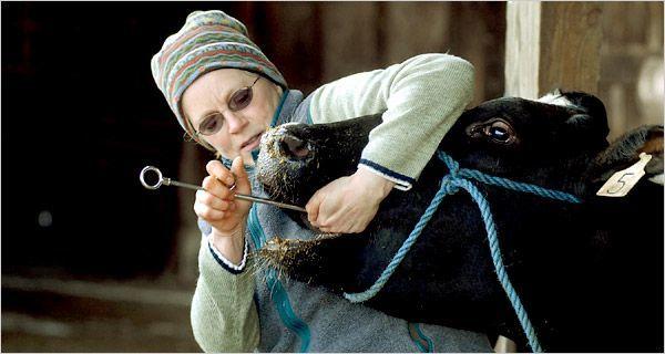 Dokter hewan memang pemberani!