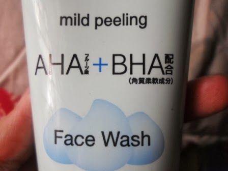 Peeling mengandung AHA dan BHA
