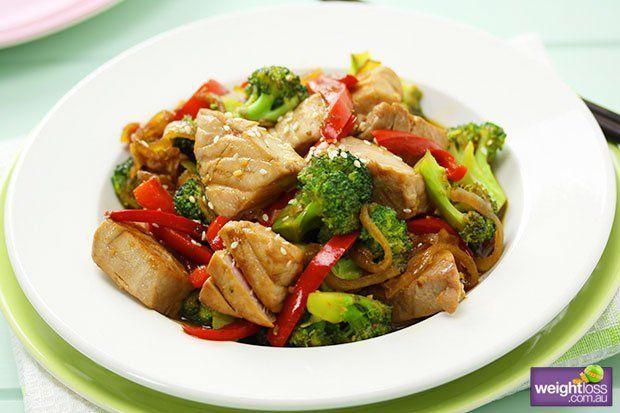 Tumis tuna-brokoli