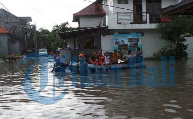 Foto Banjir DPS