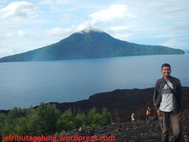 Panorama Indah Anak Gunung Krakatau