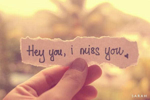 miss you dear