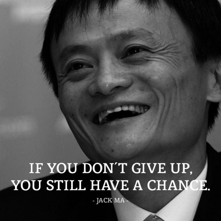 Kalau kamu tidak menyerah di tengah jalan, kamu masih punya kesempatan