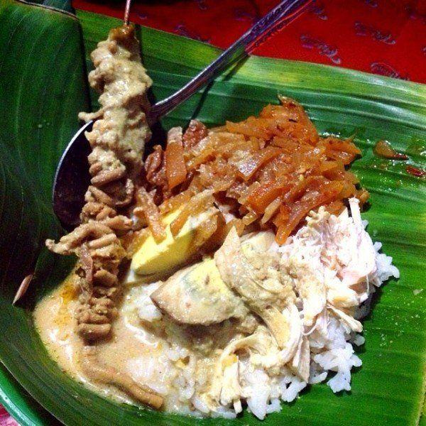 Nasi ayam khas Semarang