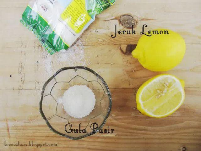 Lemon + gula
