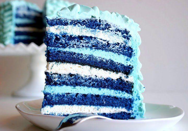 Blue Velvet cake yang yuuum