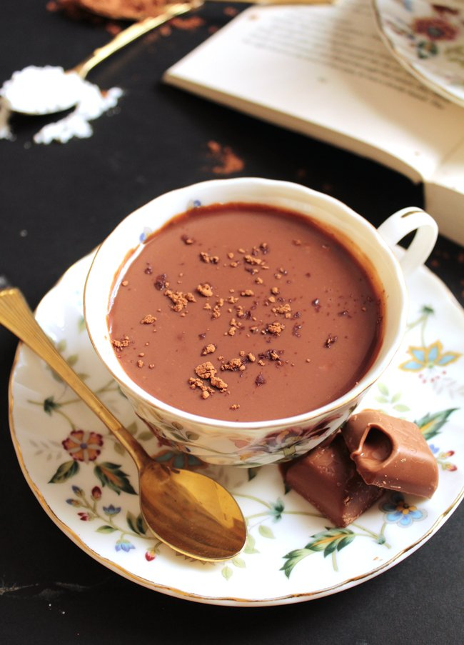 Lindt Hot Chocolate yang memang membuat bahagia