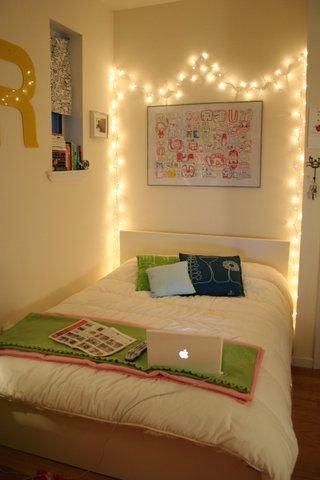 Image result for lampu daun kelip kamar