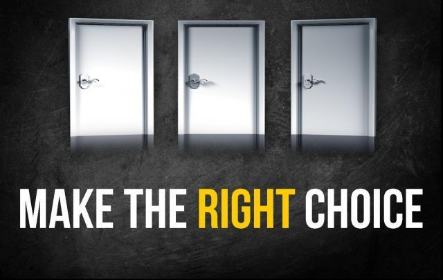 Cintailah Pilihanmu dan Percayalah Setiap Keputusan Ada Positif-Negatifnya