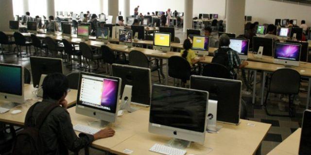 produktif dengan fasilitas perpustakaan
