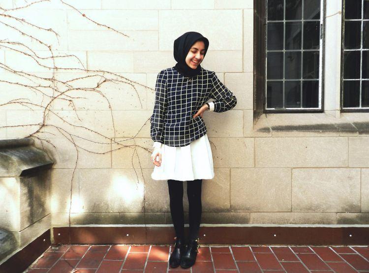 Jilbab merah dan baju merah cat colmek fullnya sid33heb - 1 2