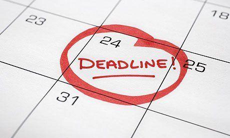 Deadline bisa jadi tidak mengerikan kok!