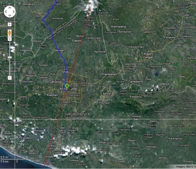 Google Map Jogja