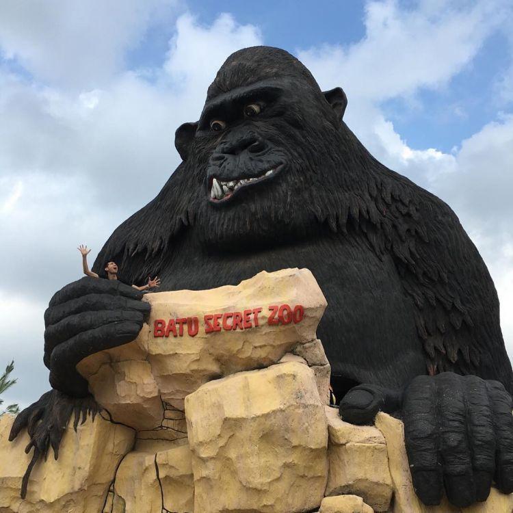 Gorilla di Secret Zoo. Credit to @dianpurnamma