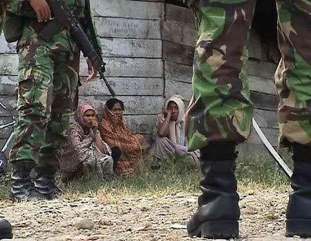Sweeping Aparat Ketika Konflik Melanda Aceh