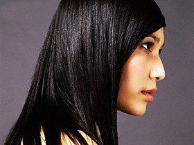 rambut hitam