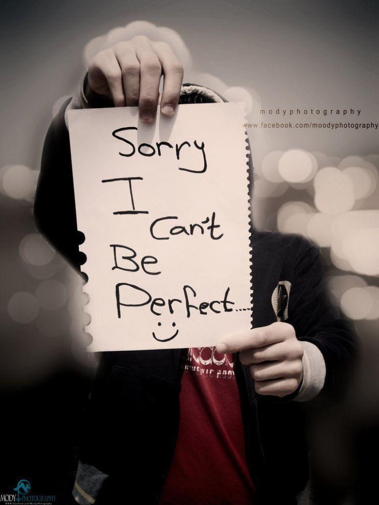 Karena memang tak ada manusia sempurna