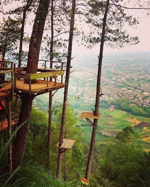 Pemandangan Omah Kayu. Credit to @ronnyang