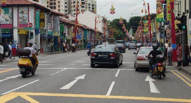 Lalu lintas di Singapura
