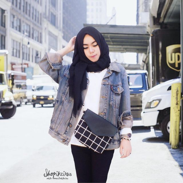 Jeans Jacket HOTD by Nabila Tarmuzi Alaydrus