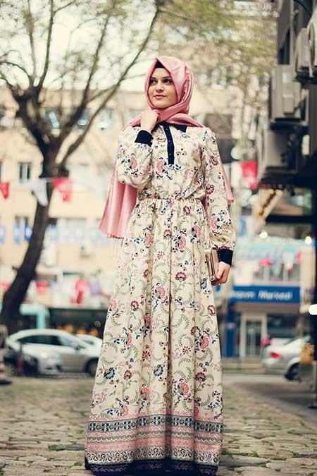 Vintage Turkish Hijab
