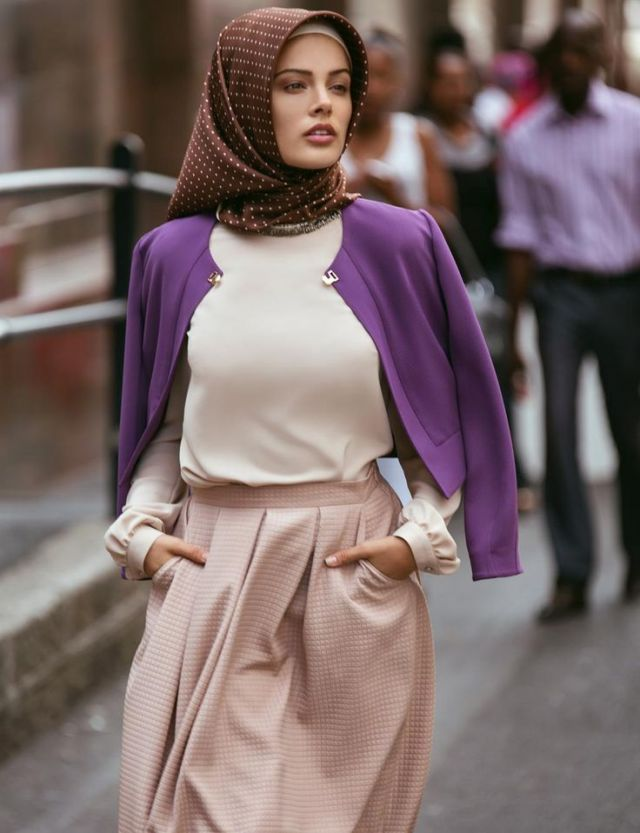Hijab turkish sederhana