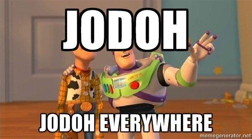 jodoh are everywhere