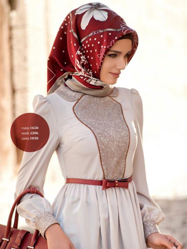 Simple Tukish Hijab Style