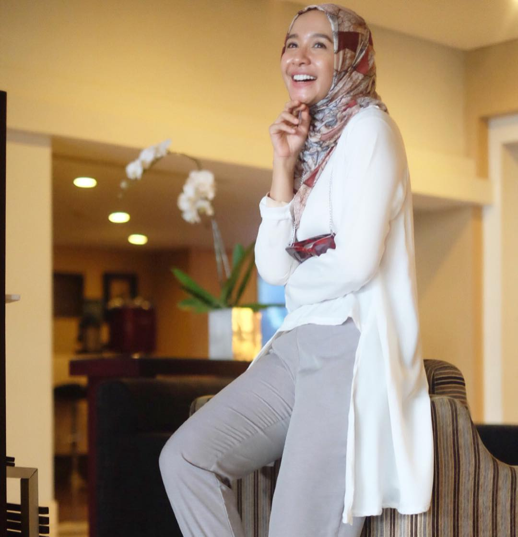 Cara Memakai Hijab Pashmina Ala Laudya Chintya Bella Tutorial Hijab