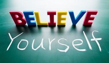 percaya dirilah!.