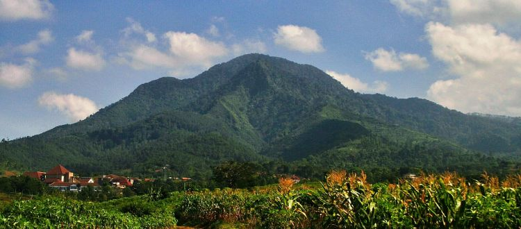 Penampakan Gunung Manglayang.