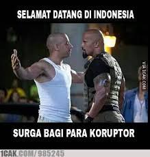 banyak kasus korupsi di indonesia