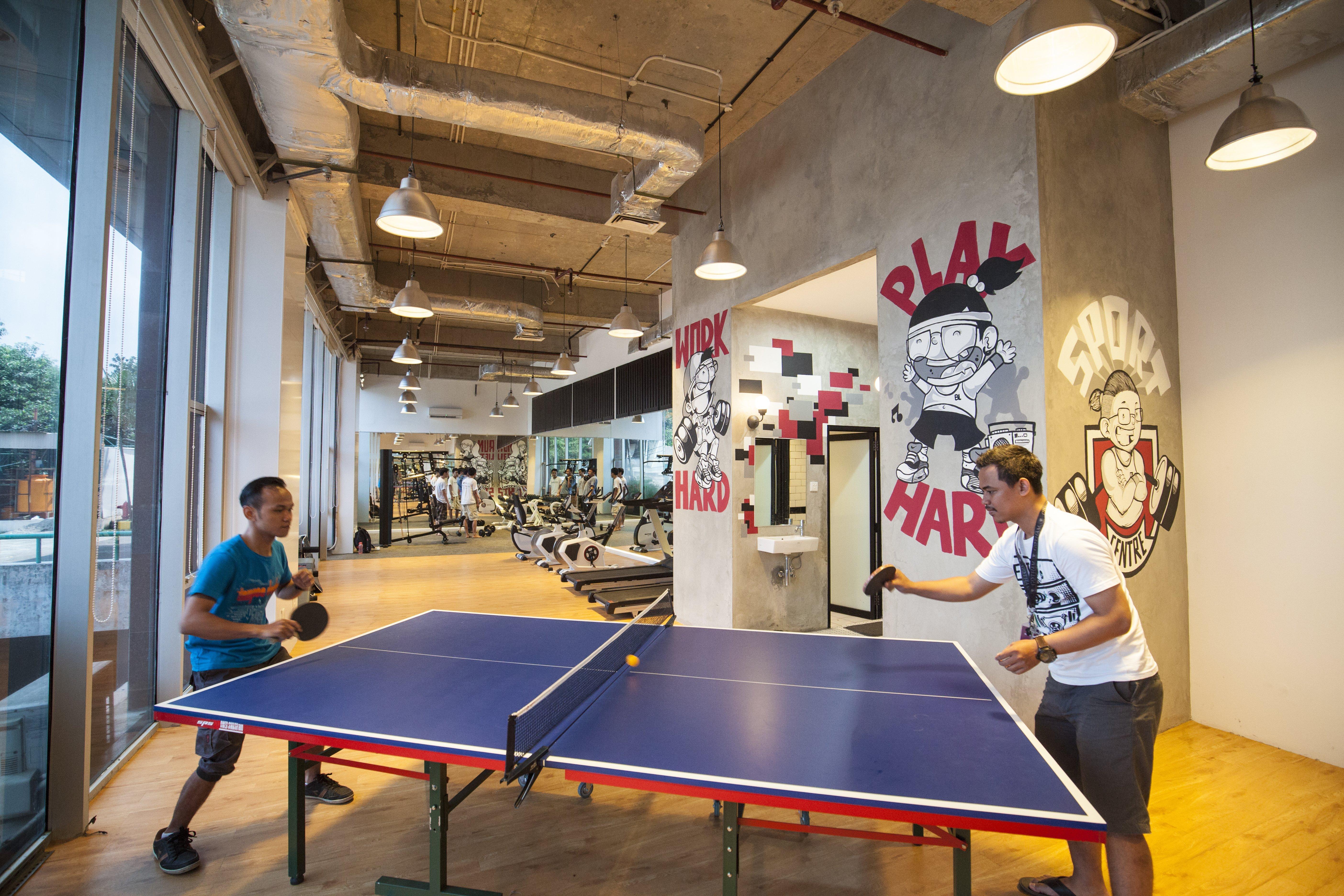 Sport centre di tempat kerja bikin kamu makin semangat