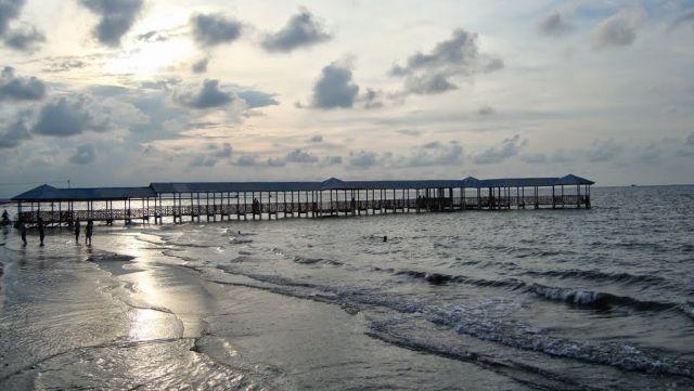 Pantai Alam Indah (PAI) dan monumen bahari
