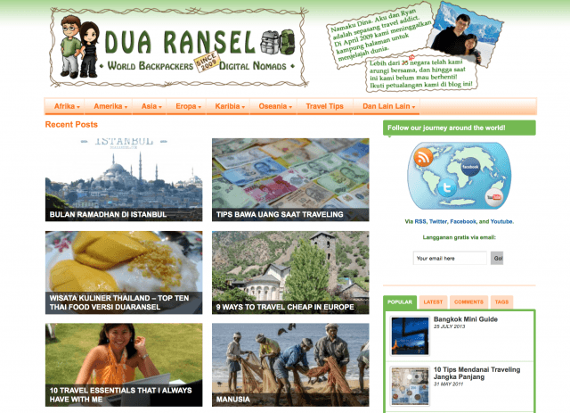 Homepage duaransel