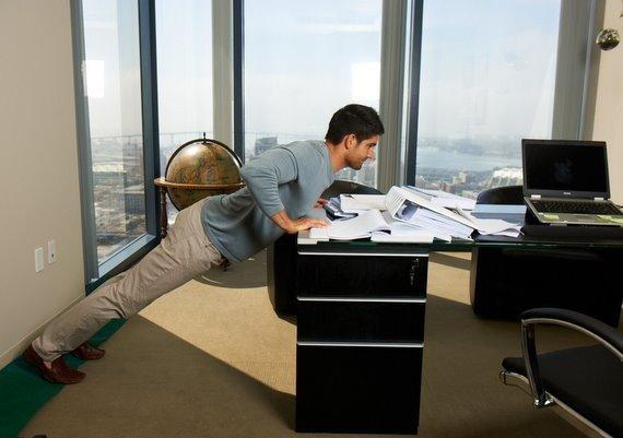 push up disesuaikan dengan kondisi kantor