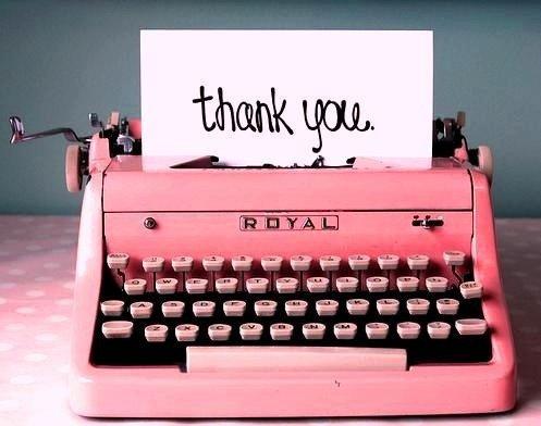 Senangnya dapet ucapan terima kasih dari nasabah..