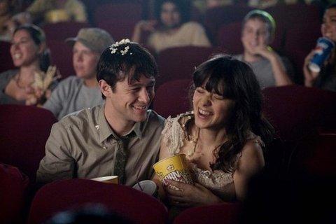 Kencan pertama sama dia, nonton bioskop...