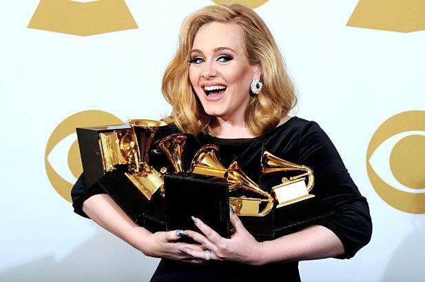 Memborong 6 piala di Grammy tahun 2012.
