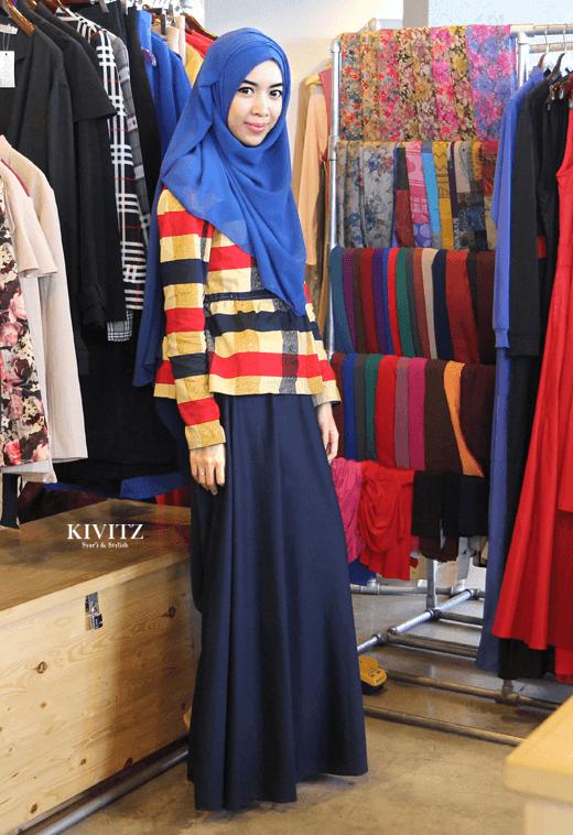 karena punya hijab juga harus disesuaikan dengan warna pakaian