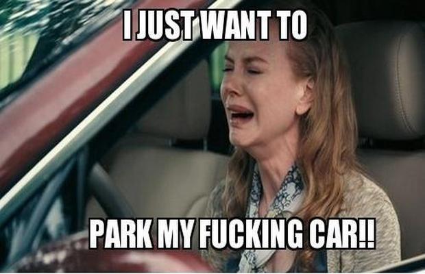 parkir paralel kapan bisa lurus :(