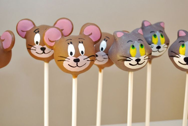 Jerry cake pops
