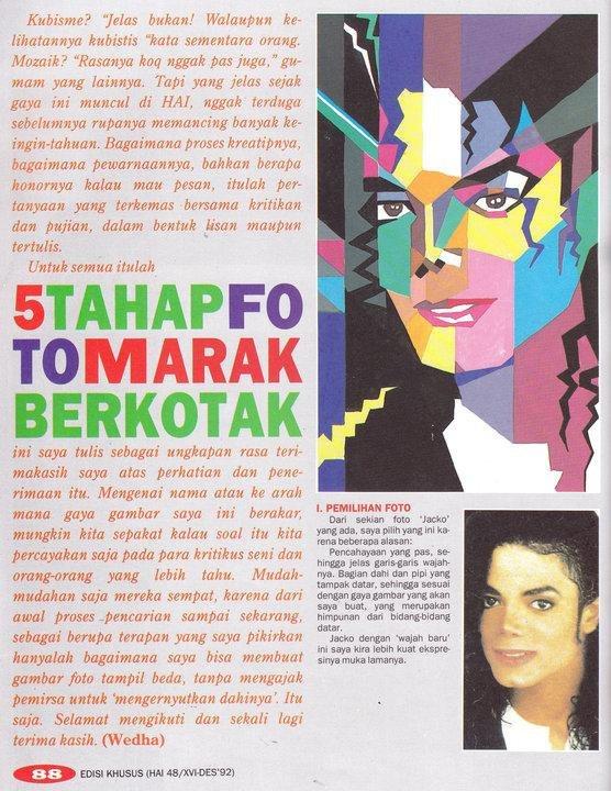 WPAP pada majalah Hai di era 90-an.
