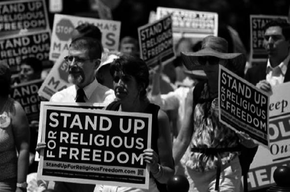 Pendukung kebebasan beragama