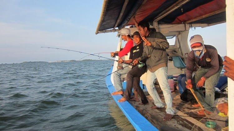 mancing di pulau pari