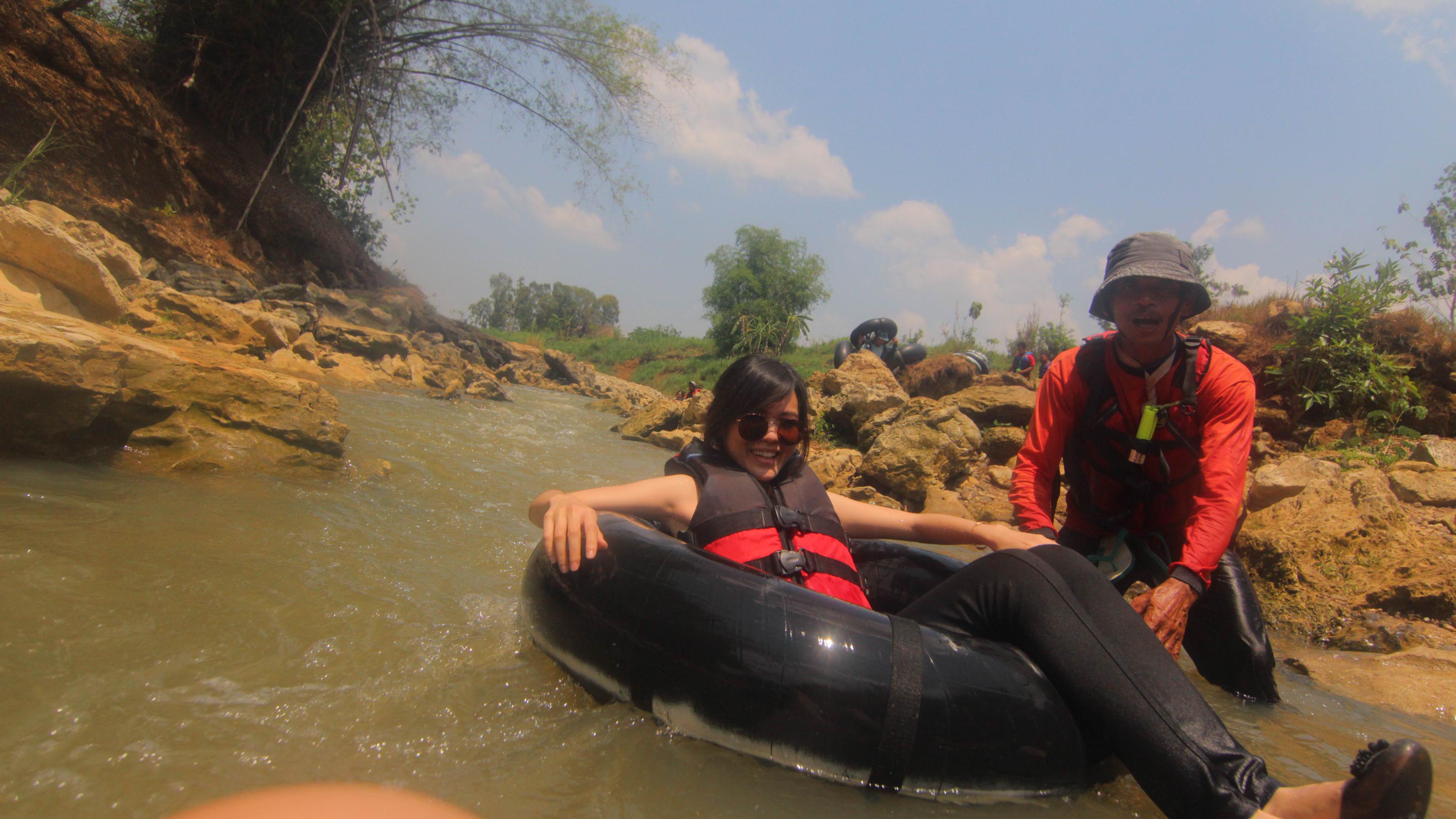 Berani river tubing di Sungai Oyo?