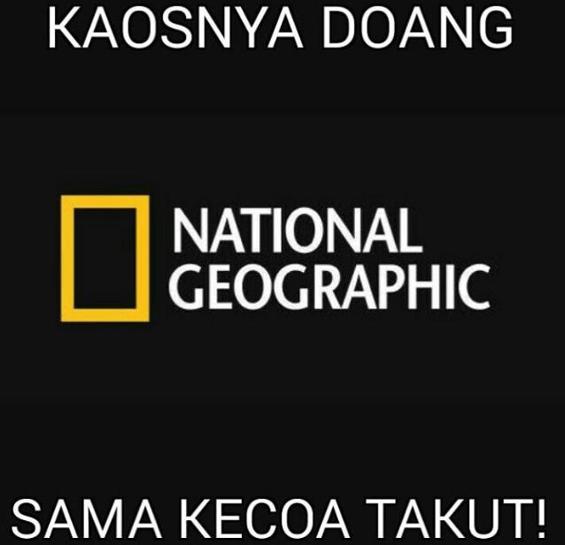 Natgeo... :(