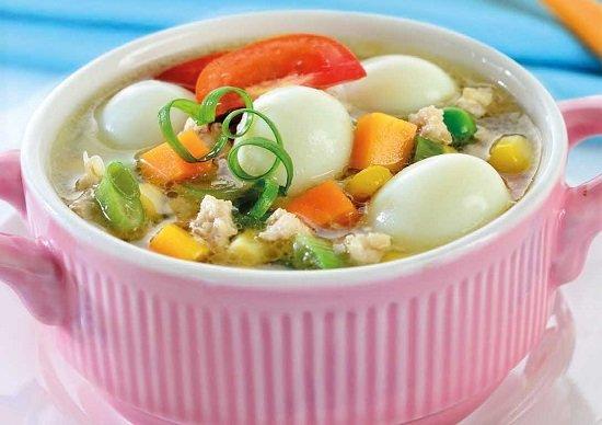 Sup-telur-puyuh