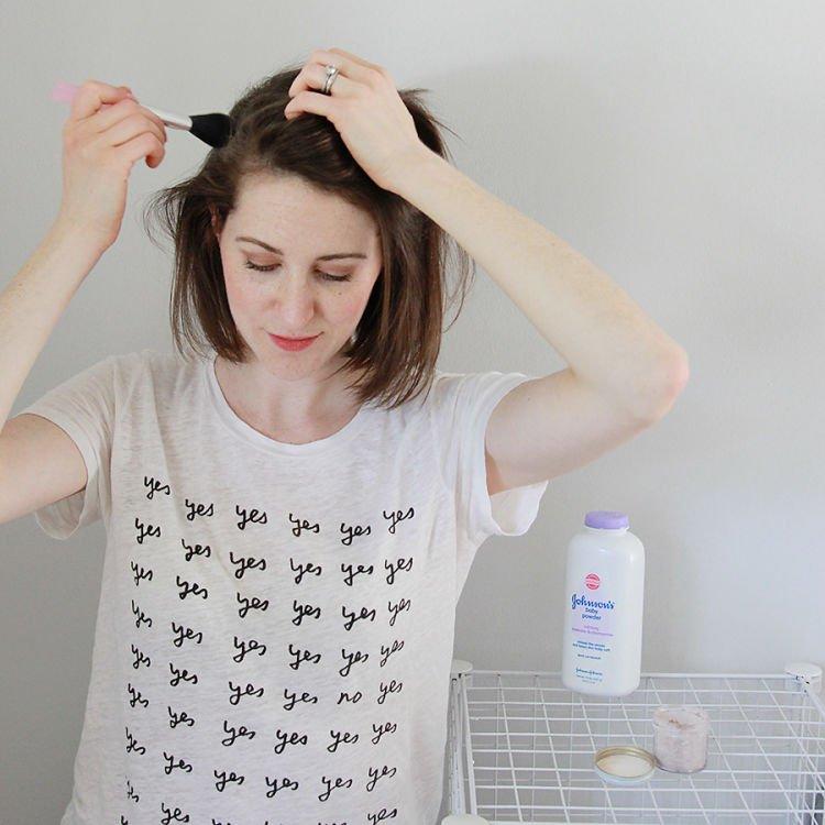 Dry shampoo~
